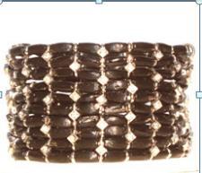 Black Weave Bracelet ( SZ-2106 )