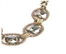 Wrapped Stone Golden Bracelet ( SZ-2056 )