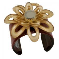 Brown Flower Cuff ( SZ-1968 )