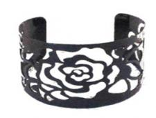 Cuff with Floral Design ( SZ-1310 )