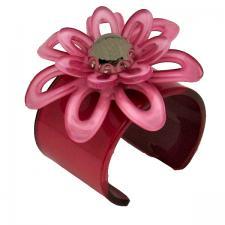 Pink Flower Cuff ( SZ-1966 )