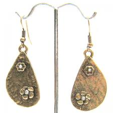 Greek Flower Earrings ( SZ-2054 )