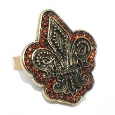 Fleur De Lis Ring ( SZ-1334 )
